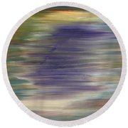 Abstract 423 Round Beach Towel