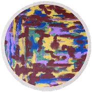 Abstract 50 Round Beach Towel