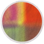 Abstract 5791 Round Beach Towel