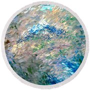 Abstract 6-03-09 A Round Beach Towel