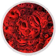 Abstract 63016.2 Round Beach Towel