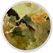 Abstract 6601901 Round Beach Towel