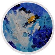 Abstract 6601902 Round Beach Towel