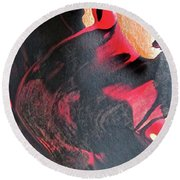 Abstract 6606 Round Beach Towel