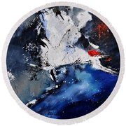 Abstract 6611401 Round Beach Towel