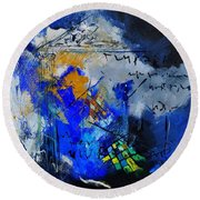 Abstract 6611701 Round Beach Towel