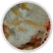 Abstract 69014003 Round Beach Towel