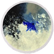 Abstract 8811301 Round Beach Towel
