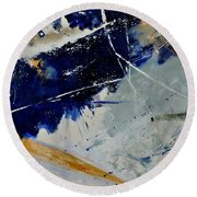 Abstract 8811503 Round Beach Towel