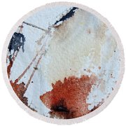 Abstract 9037 Round Beach Towel