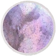 Abstract Abalone One Round Beach Towel