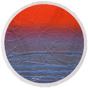 Abstract Artography 560018 Round Beach Towel