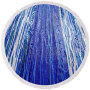 Abstract Artography 560025 Round Beach Towel