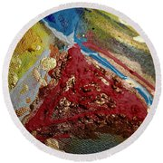 Abstract Artography 560066 Round Beach Towel