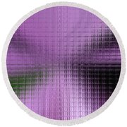 Abstract By Paint Pro X9 # 27 Round Beach Towel