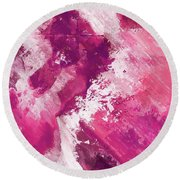 Abstract Division - 74 Round Beach Towel