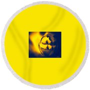 Abstract First Woman Round Beach Towel