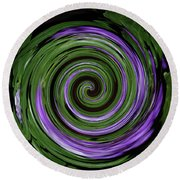 Abstract I Round Beach Towel