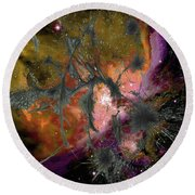 Abstract Images Of Forgiveness Series #4 Round Beach Towel