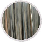 Abstract Lodgepole Pine 2 Round Beach Towel