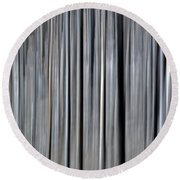 Abstract Lodgepole Pine Round Beach Towel