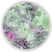 Abstract No 3 Round Beach Towel
