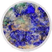 Abstract No 4 Round Beach Towel