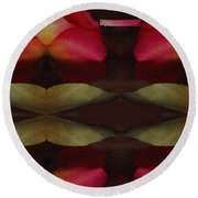 Abstract Round Beach Towel