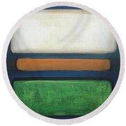 Abstract - Rothko Round Beach Towel