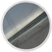 Abstract Sea Round Beach Towel