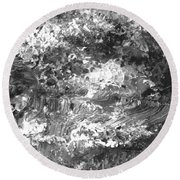 Abstract Series 070815 A3 Round Beach Towel