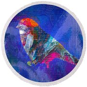 Abstract Series Jl312116 Round Beach Towel