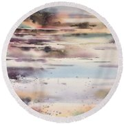Approaching Storm Round Beach Towel