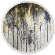 Abstract.19 Round Beach Towel