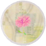 Abstractionnel - 29z21bb Round Beach Towel