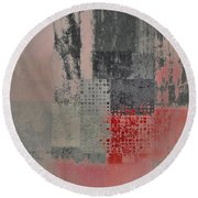 Abstractionnel Round Beach Towel
