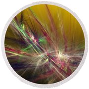 Abstracty 110310 Round Beach Towel