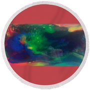 Acrylic Resin Pour 2871 Round Beach Towel