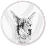 Adam Round Beach Towel