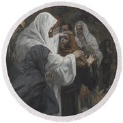 Address To Saint Philip Round Beach Towel by Tissot