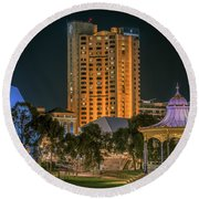 Adelaide Riverfront Round Beach Towel