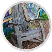 Adirondack Chair ? Round Beach Towel