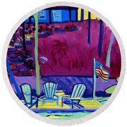 Adirondack Float Long Sought For Pond Westford Ma Round Beach Towel