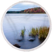 Adirondack View 4 Round Beach Towel
