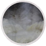 Go'n Over - Chutes Montmorency Round Beach Towel