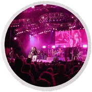 Aerosmith-00192 Round Beach Towel