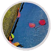 After Rain Round Beach Towel