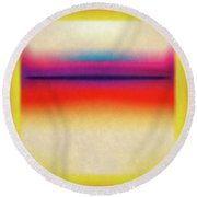 After Rothko 3 Round Beach Towel