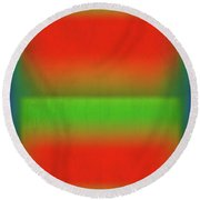 After Rothko Tall 4 Round Beach Towel