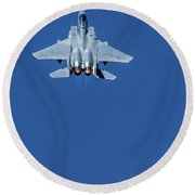 Afterburners Engaged Round Beach Towel